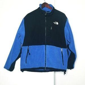 The North Face Blue & Black Full Zip Fleece